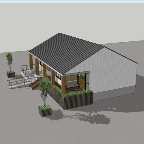 蒜山高原のペンション計画!