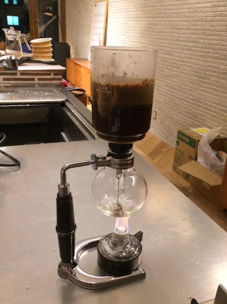 (仮)サイフォンコーヒー
