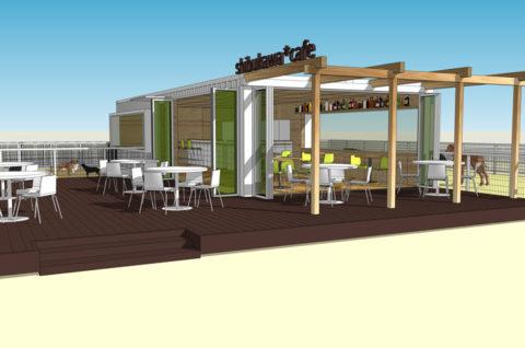 海辺のドックカフェ